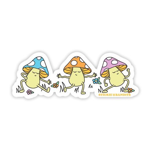 Mushrooms Sticker
