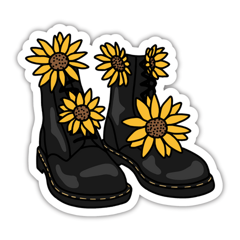 Daisy Boots Sticker