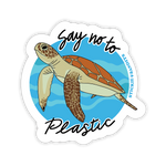 Say No to Plastic Sticker