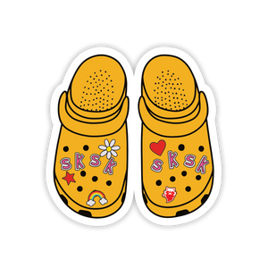 SKSK Crocs Sticker