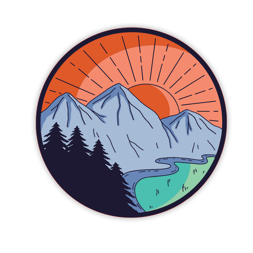 Sunrise Sticker