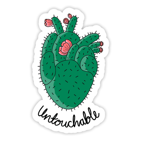 Untouchable Sticker