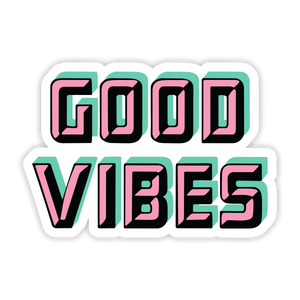 Good Vibes Pastel Sticker