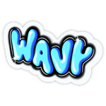 Wavy Bubbles Sticker