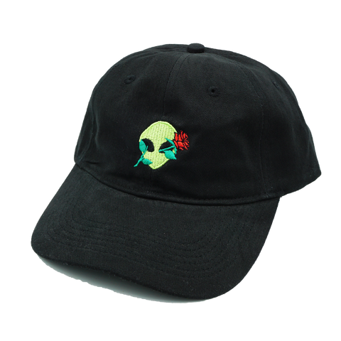 Alien Rose Dad Hat