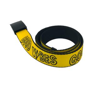 Good Vibes Web Belt