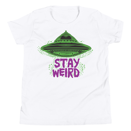Stay Weird Youth Tee Shirt
