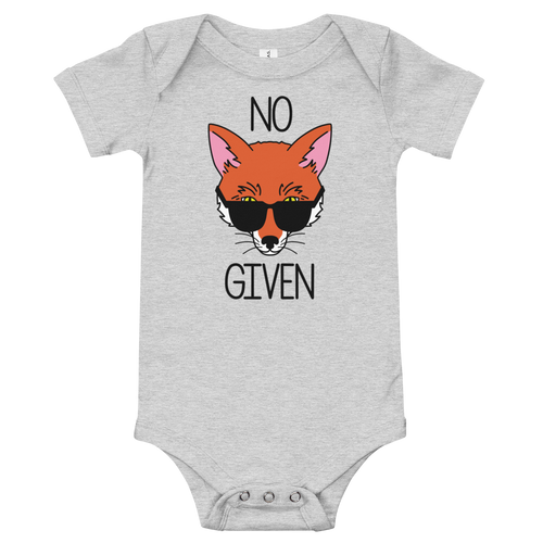 No Fox Given Onesie