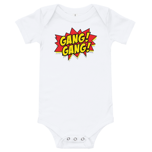 Gang Gang Comic Onesie