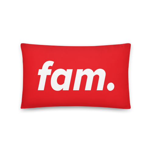 Fam. Throw Pillow