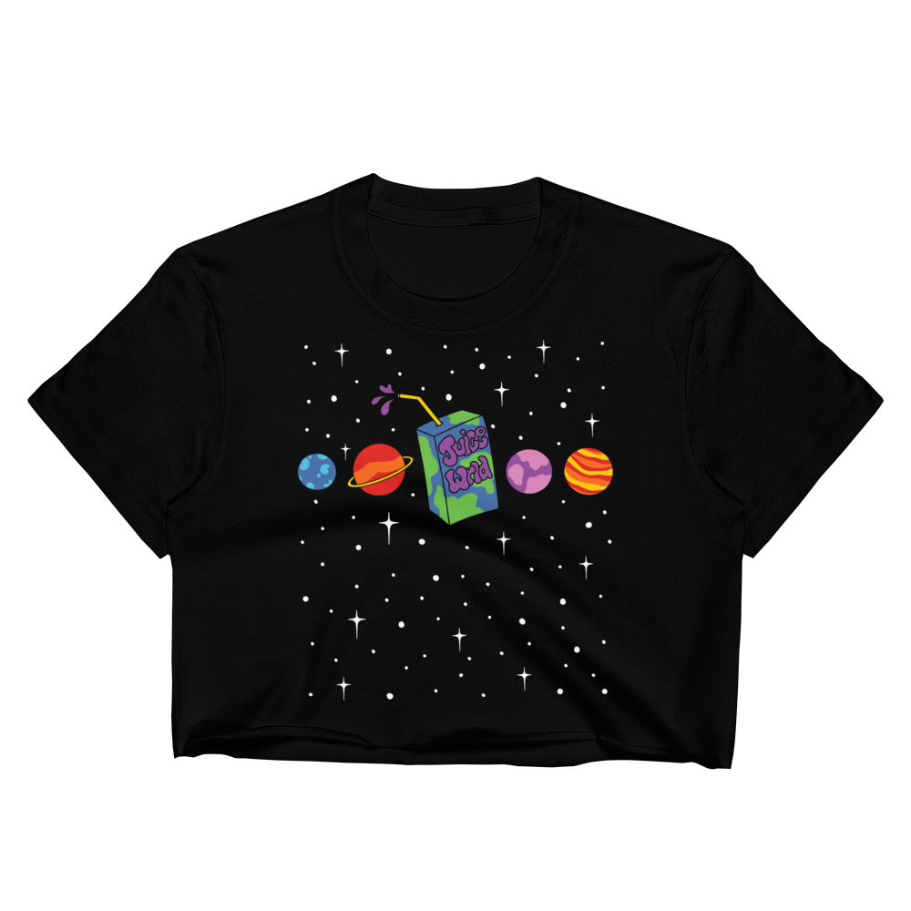 Juice Box Galaxy Crop Top