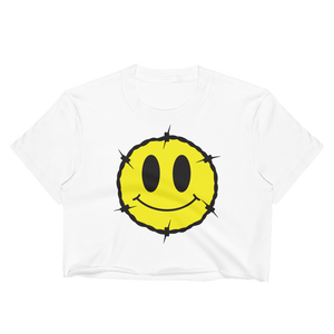 Barb Smile Crop Top