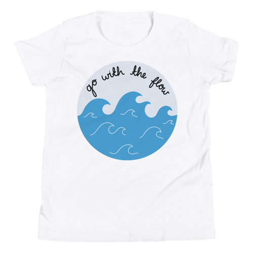 Go With the Flow Youth Tee Shirt