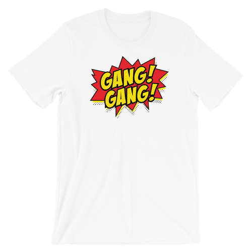 Gang Gang Comic Tee Shirt