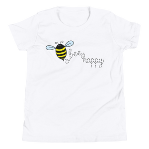 Bee Happy Youth Tee Shirt