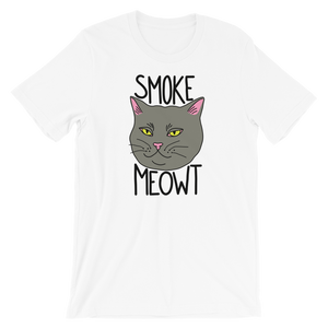 Smoke Meowt Tee Shirt