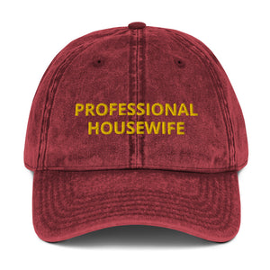 PROFESSIONAL HOUSEWIFE Vintage Cotton Twill Cap