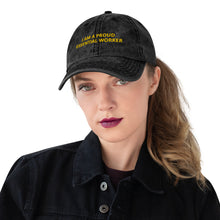 Load image into Gallery viewer, Essential Worker Vintage Cotton Twill Cap