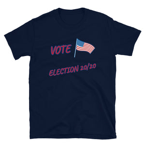 VOTE ELECTION 20/20 GILDAN 6400 Short-Sleeve Unisex T-Shirt