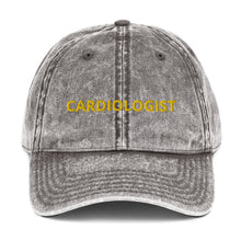 Load image into Gallery viewer, CARDIOLOGIST Vintage Cotton Twill Cap