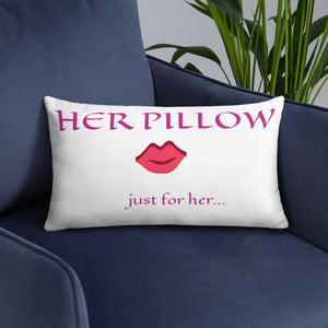 Decorative Just For Her  Pillow Wedding Gifts Personalized Gifts For Her Single Women Living Room Decor Bedromm Decor Couch Pillows Gifts For Bride Throw Pillows Toss Pillows