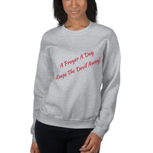 Load image into Gallery viewer, Faith Based Christian Him or Her Long Sleeve Sweatshirt