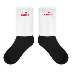STAY BLESSED SOCKS