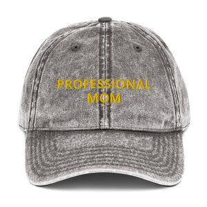 PROFESSIONAL MOM Vintage Cotton Twill Cap