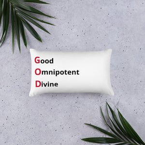God Omnipotent Divine Throw Pillow For Living Room Throw Pillow For Bedroom