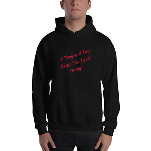 Faith Based Christian Him or Her Unisex Hooded Sweatshirt