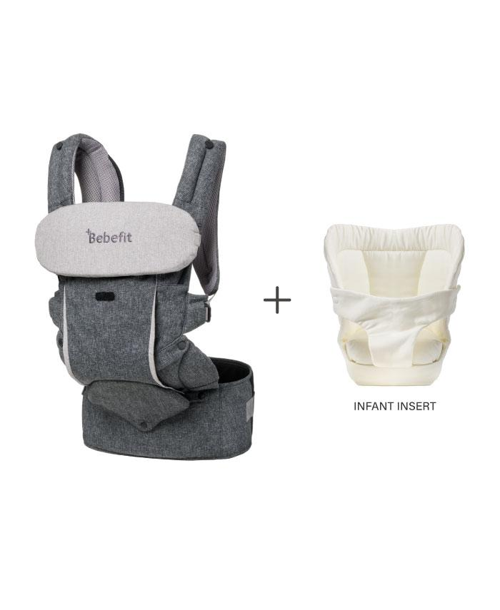 Bebefit Smart Baby Carrier  | Dark Gray - CalicoMarket