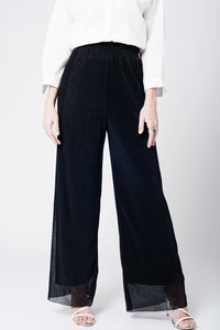 Black cheesecloth pants - CalicoMarket