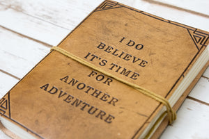 Another Adventure Blonde Handmade Leather Journal - CalicoMarket