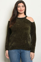 Load image into Gallery viewer, WOMENS PLUS SIZE SWEATER - CalicoMarket