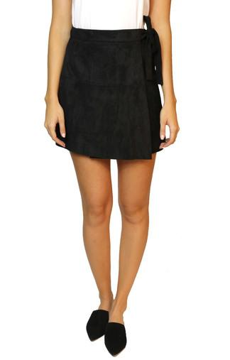 217033 VIVA SUEDE MINI SKIRT - CalicoMarket