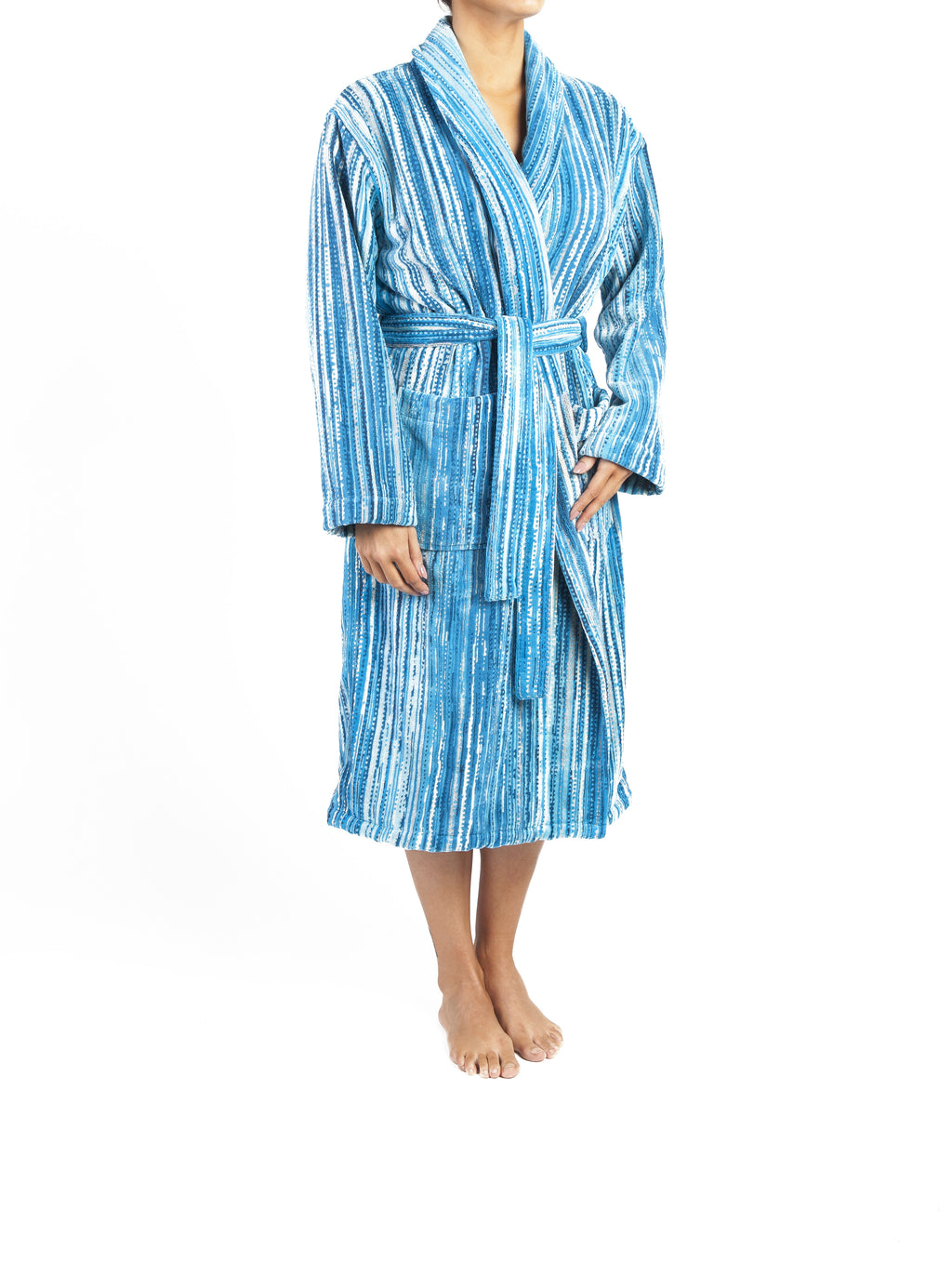 Blue Grass Bath Robe - CalicoMarket