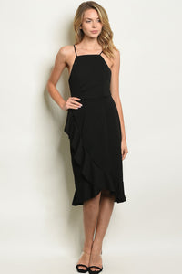 WOMENS RUFFLED DRESS - CalicoMarket
