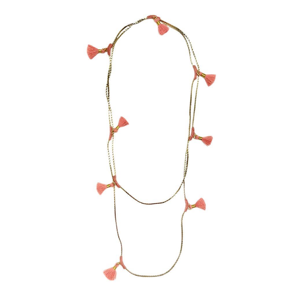 Ananya Tassel Necklace - CalicoMarket