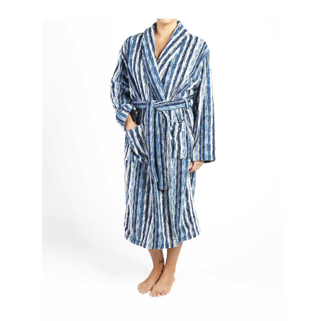 Blue Perth Bath Robe - CalicoMarket