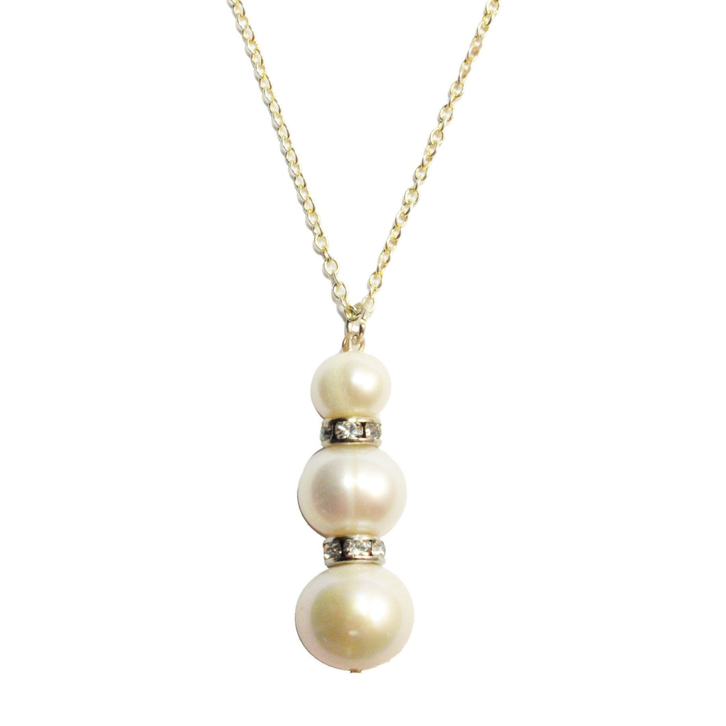 Adalia Pearl Pendant Necklace - CalicoMarket