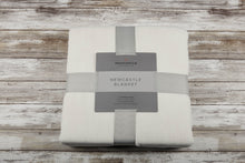 Load image into Gallery viewer, Bamboo Blanket Oversized Queen - Pristine White - CalicoMarket