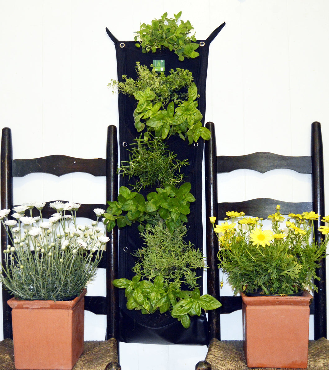 7 Pocket INDOOR WATERPROOF Vertical Planter - CalicoMarket