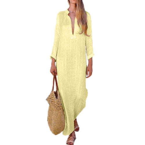 Boho Long Maxi Dress - CalicoMarket
