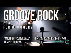 "Groove Rock - ""Midnight Curveball"""