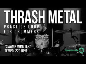 "Thrash Metal - ""Swamp Monster"""