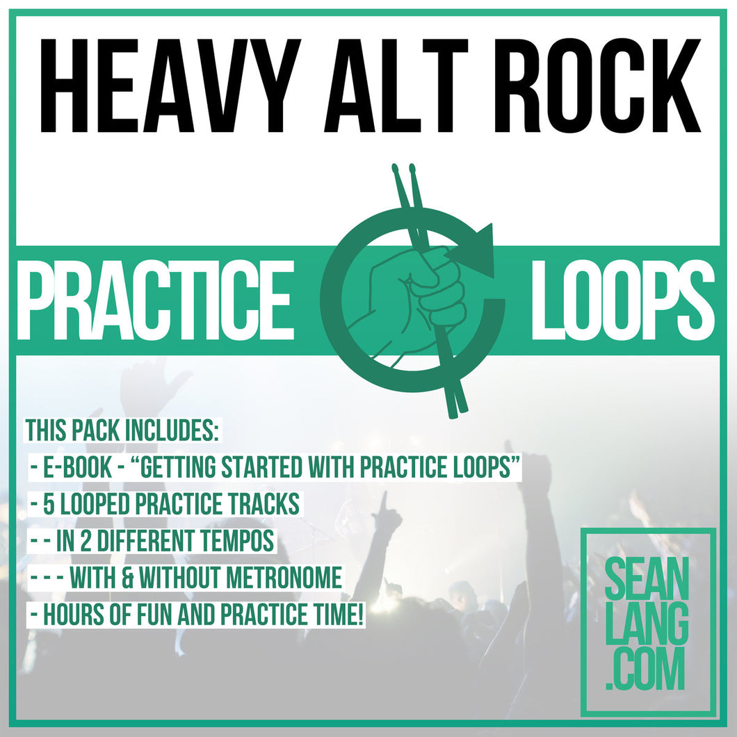 Heavy Alt Rock - Loop Pack