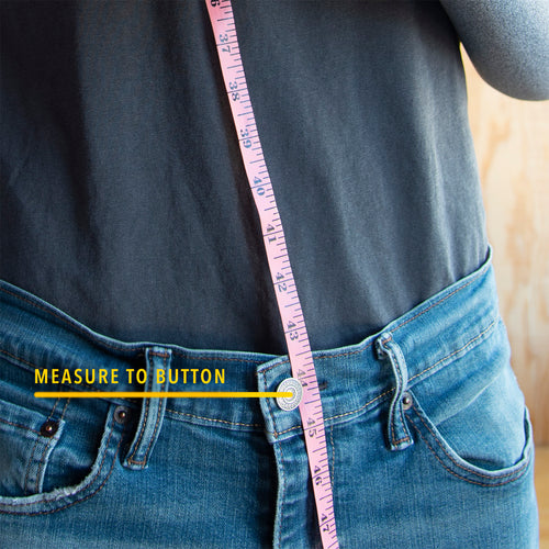 HIKERS button fly suspenders how to measure for the perfect fit