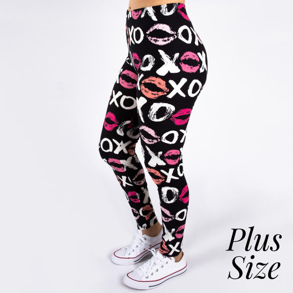 Plus Size XOXO Leggings