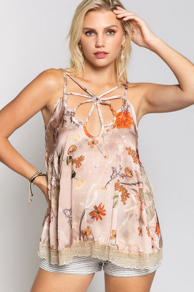 Multi Strap Cami Top