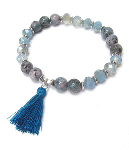 Stretch Bracelet w/Tassel